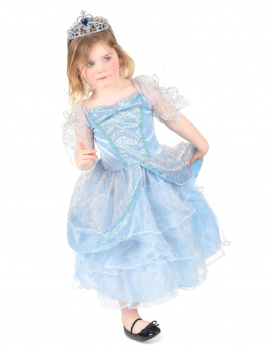 Costume da principessa celeste per bambina