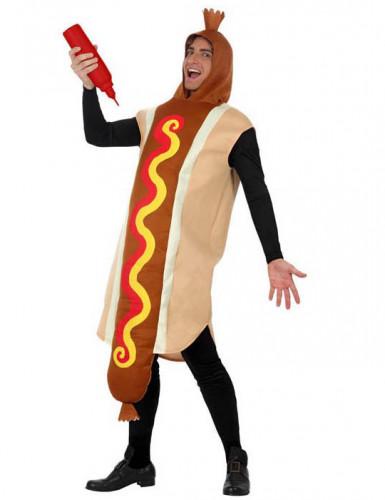 Costume da hot dog per adulto