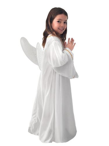 Costume angelo bianco per bambino