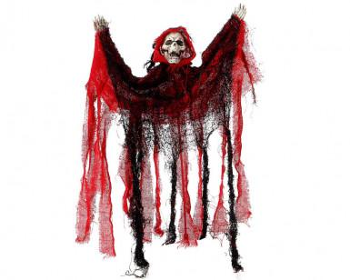 Decorazione appendibile di scheletro per Halloween