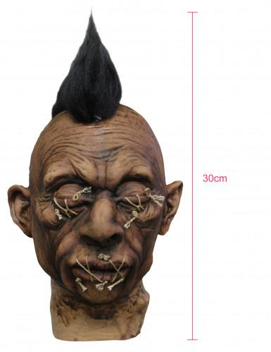 Decorazione voodoo per Halloween con cresta adulto-1