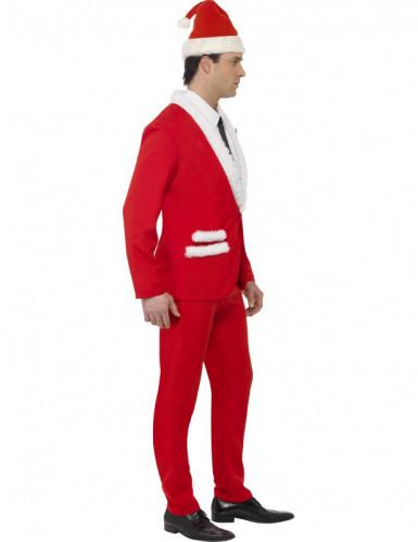 Costume adulto da Babbo Natale elegante-2