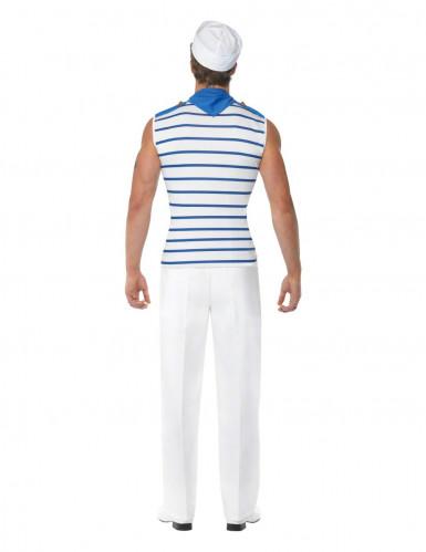 Travestimento da marinaio per uomo adulto-1