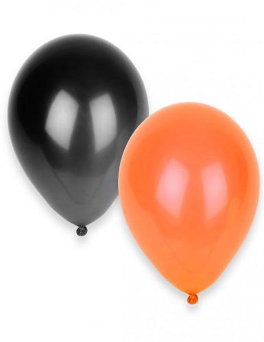 50 palloncini nei colori di Halloween