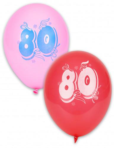 10 Palloncini numero 80