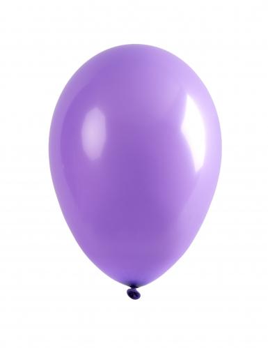 24 palloncini da 25 cm viola