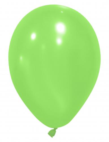 24 palloncini da 25 cm verdi