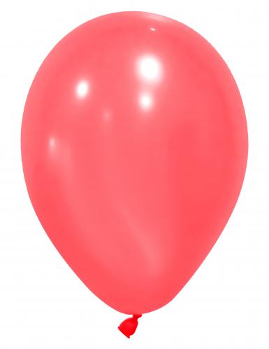 12 palloncini da 28 cm rossi