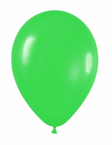 12 palloncini da 28 cm verdi