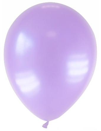 12 palloncini di colore lavanda metallizzato
