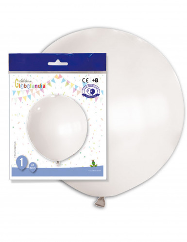 1 palloncino bianco gigante