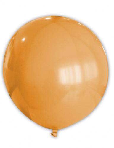 Palloncino grande di colore arancione