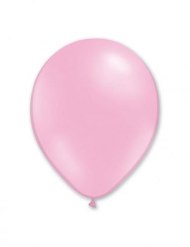 100 palloncini da 27 cm rosa