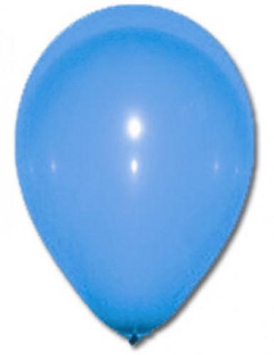 100 palloncini da 27 cm blu