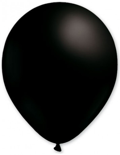 100 palloncini da 27 cm neri