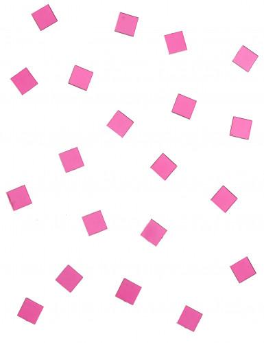 20 mini specchi quadrati fucsia