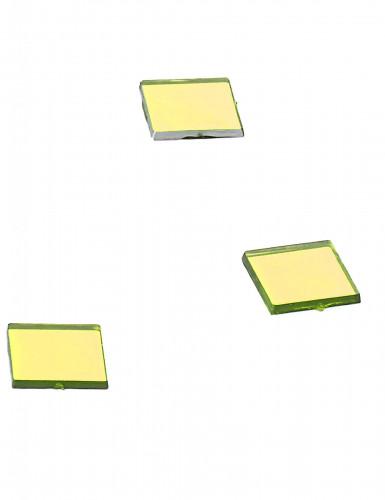 20 specchietti quadrati gialli