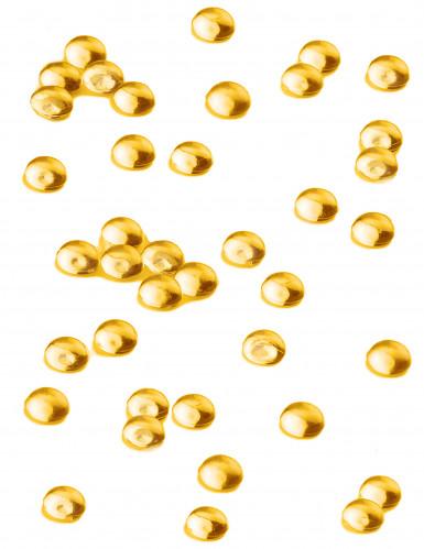 Perle effetto goccia di pioggia giallo arancio