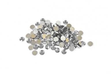 Coriandoli da tavola argentati rotondi 10 g