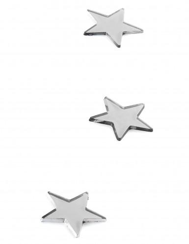 10 piccoli specchi a forma di stella-1