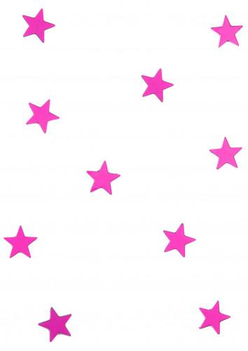 10 specchietti a forma di stella fucsia