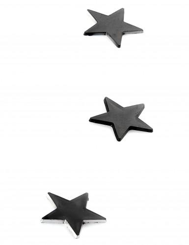 10 mini specchi a stella neri-1