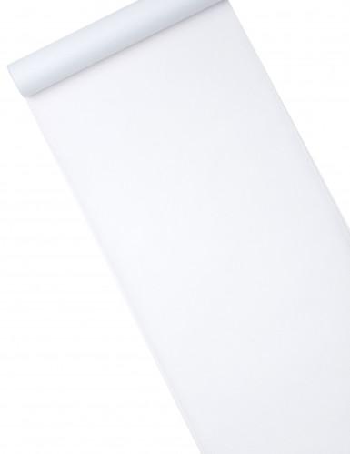 Runner bianco in tessuto non tessuto