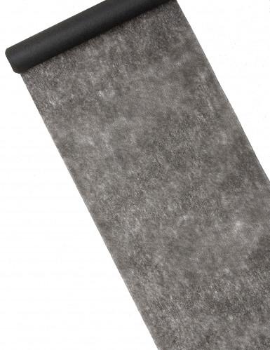 Rotolo di tessuto nero trasparente