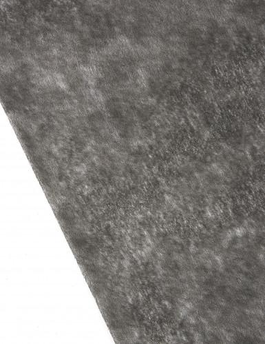 Rotolo di tessuto nero trasparente-1