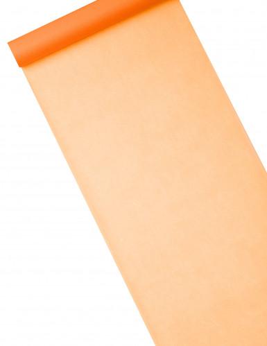 Runner da tavola color arancione
