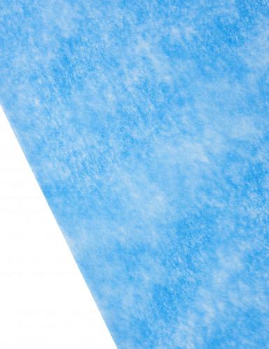 Runner da tavola in tessuto non tessuto blu reale-1