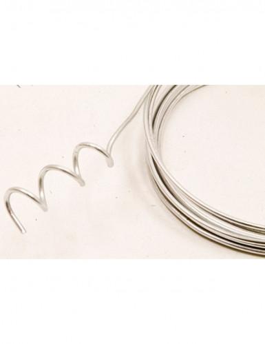 Filo d'alluminio argentato malleabile
