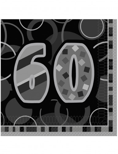 Tovaglioli per festeggiare i 60 anni