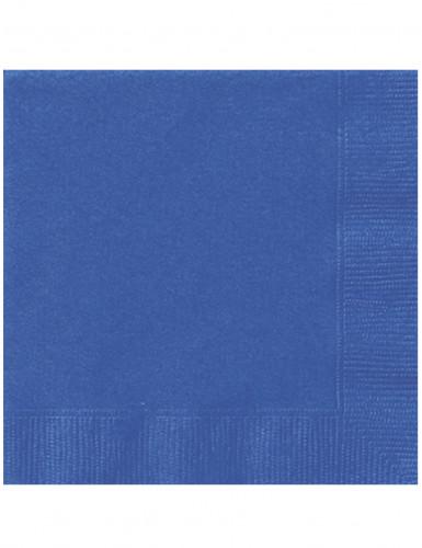 20 tovagliolidi carta blu