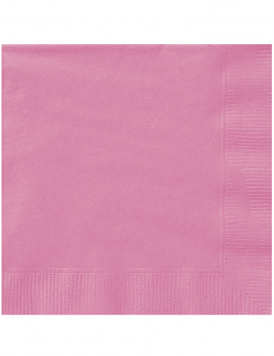 20 tovaglioli di carta rosa di 33 x 33 cm