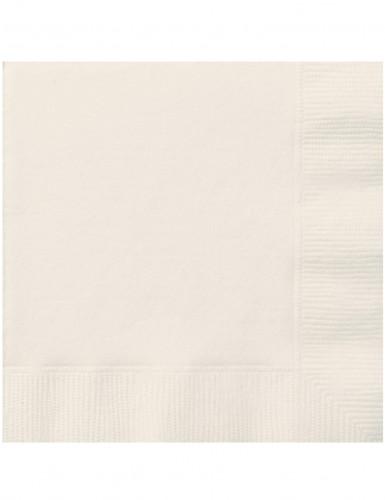 20 Tovaglioli di carta color avorio
