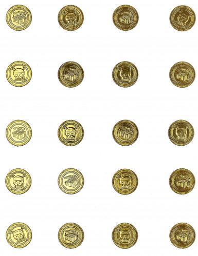 Trenta monete d'oro con teschio-1