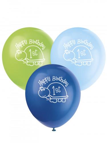 8 Palloncini 1? compleanno