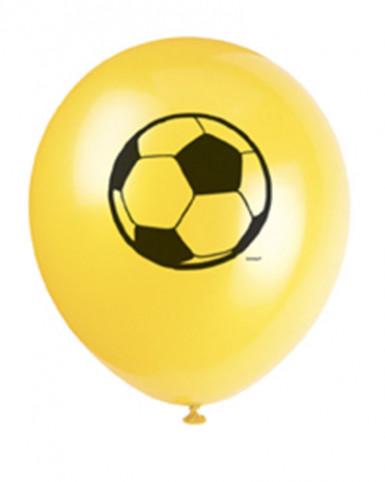 8 palloncini stampa pallone di calcio
