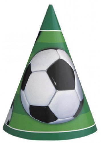8 cappellini a tema calcio verdi