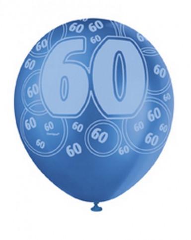 Palloncini blu per 60 anni-2