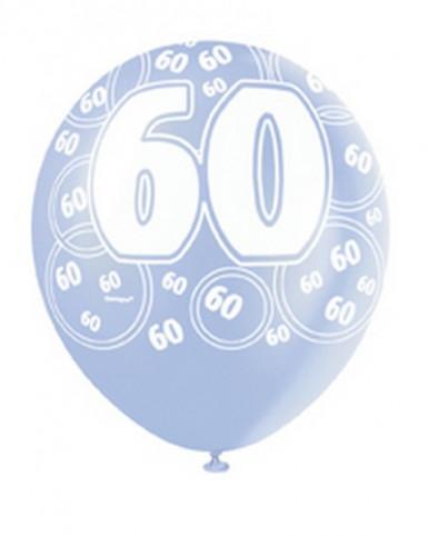 Palloncini blu per 60 anni-1