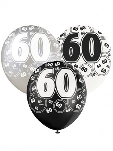 Palloncini a tema 60 anni