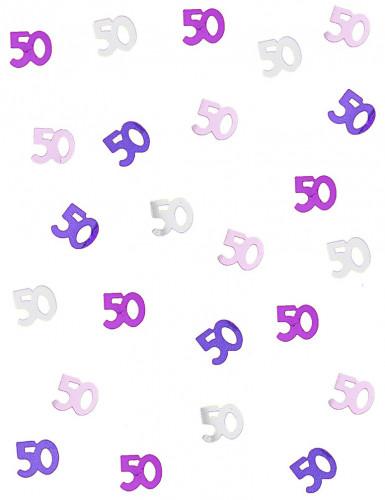Coriandoli a forma di numero 50