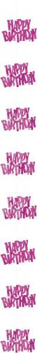 Decorazione con gancio Happy Birthday
