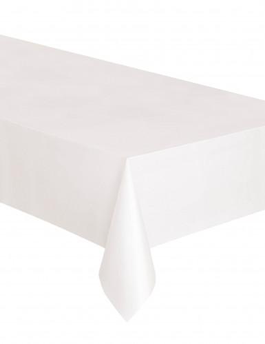 Tovaglia di plastica rettangolare colore bianco