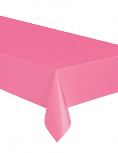 Tovaglia rosa di plastica rettangolare
