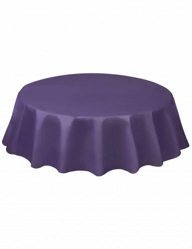 Tovaglia viola rotonda