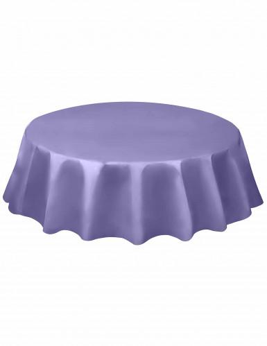 Tovaglia di plastica rotonda color lavanda