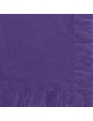 50 tovaglioli di colore viola